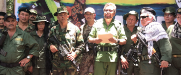 Kolumbien vor neuem bewaffneten Konflikt? Iván Márquez verliest Manifest der neuen Farc-Guerilla