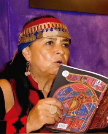 Die Autorin Rayen Kvyen schreibt aus Sicht der Mapuche in Chile