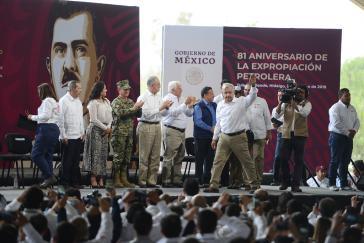 Will die Erdölförderung ausbauen: Mexikos Präsident Andrés Manuel López Obrador