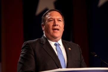 """Washington im Kampf gegen die """"Troika der Tyrannei"""": US-Außenminister Mike Pompeo kündigte am Mittwoch neue Sanktionen gegen Kuba an."""