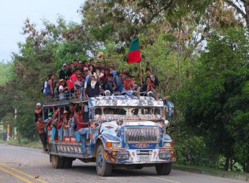 Beim Protest 2019 beweisen die Indigenen einmal mehr ihre Mobilisierungsstärke