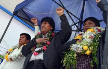 Gegen eine erneute Kandidatur von Evo Morales bei den Präsidentschaftswahlen im Oktober gibt es nach wie vor Widerstand in Bolivien