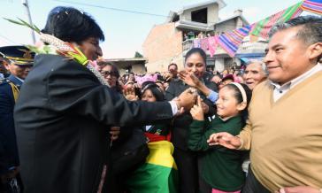 Bolivien hat eine stabile Wirtschaftspolitik