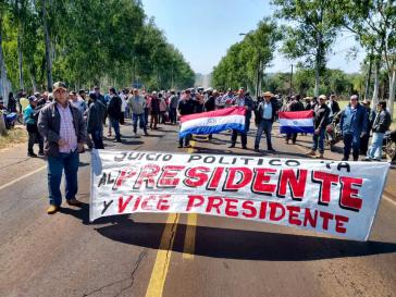 Opposition in Paraguay forderte Verfahren wegen mutmaßlicher Korruptionsdelikte gegen Präsident Benítez