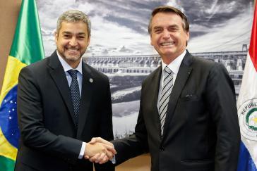 Benítez versteht sich gut mit Amtskollegen Bolsonaro aus Brasilien – vielleicht zu gut