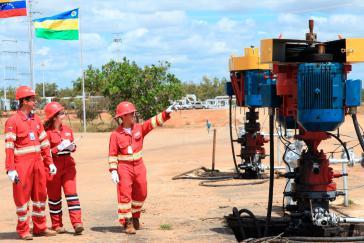 Die USA drohen: Wer Geschäfte mit venezolanischem Öl macht, wird bestraft.