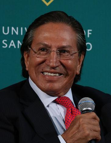 Perus Ex-Präsident Toledo ist am Dienstag in Kalifornien festgenommen worden