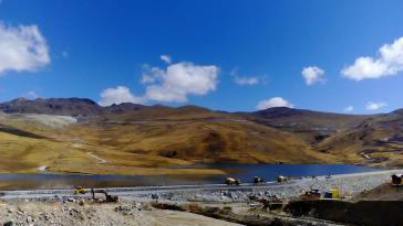 Um das Kupferbergwerk Las Bambas in Peru gibt es seit Jahren immer wieder heftige Auseinandersetzungen