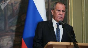 Russlands Außenminister Sergei Lawrow
