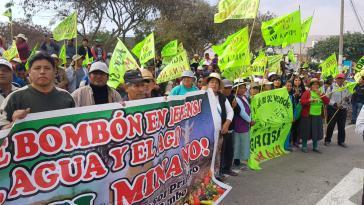 Nach wochenlangen Protesten in Peru gegen das Bergbaubauprojekt Tia María wurde dieses nun vorerst ausgesetzt