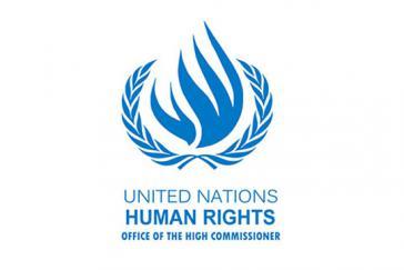 Logo des Büros des Hohen Kommissars für Menschenrechte der Vereinten Nationen