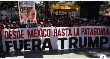 """""""Von Mexiko bis Patagonien - Trump Raus!"""""""