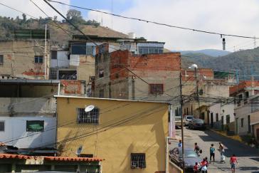 Zur Kommune Altos de Lídice in der Gemeinde La Pastora in Caracas gehören sieben Consejos Comunales