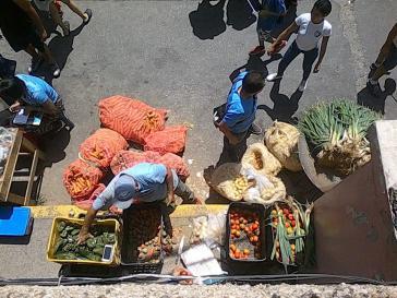 Kommunaler Markt in Altos de Lidice, einem Barrio in Venezuelas Hauptstadt Caracas