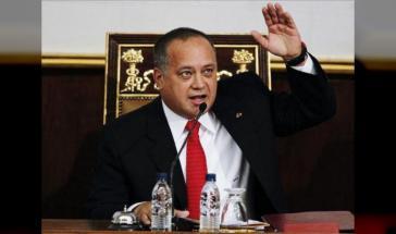 Diosdado Cabello, Präsident der verfassunggebenden Versammluing und führender Politiker der Regierungspartei PSUV