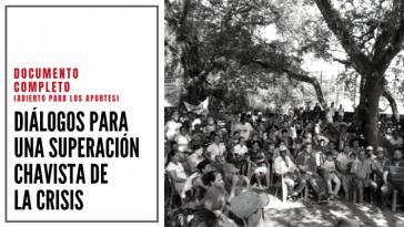 Seit Dezember 2018 traf sich eine Gruppe von Basisorganisationen, um gemeinsam die Lage der Bolivarischen Revolution zu reflektieren. Der hier dokumentierte Text wurde im Juni 2019 in Caracas vorgestellt