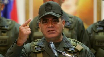 Venezuelas Verteidigungsminister Padrino López warnt Kolumbien davor, Venezuelas Souveränität zu verletzen