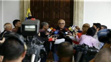 Venezuelas Informationsminister Jorge Rodríguez