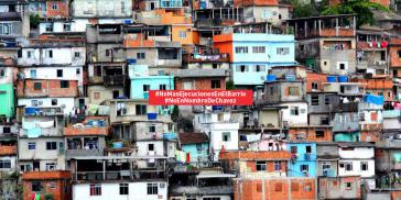 Kampagnenbild des Menschenrechtskollektivs Surgentes