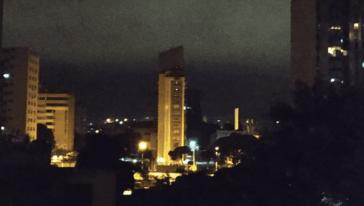 Auch große Teile der Hauptstadt Caracas waren tagelang immer wieder ohne Strom