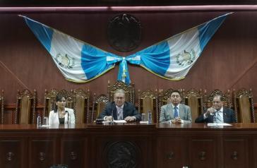 Das Verfassungsgericht von Guatemala entschied kürzlich einen inhaltlich ähnlichen Vertrag vorerst zu stoppen
