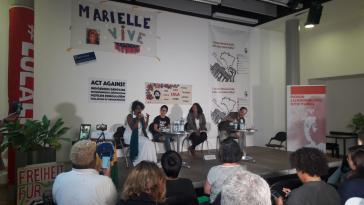 In Berlin kommen seit gestern linke Oppositionelle zusammen, um Strategien gegen die Politik Bolsonaros zu diskutieren