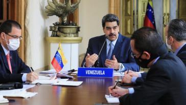 Venezuelas Präsident Maduro plädiert für einen Wirtschaftsrat zur Überwindung der sozialen Folgen der Pandemie