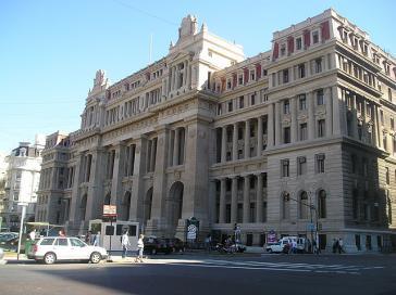 Der Justizpalast in der argentinischen Hauptstadt Buenos Aires