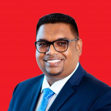 Mohamed Irfaan Ali ist der neue Präsident von Guyana