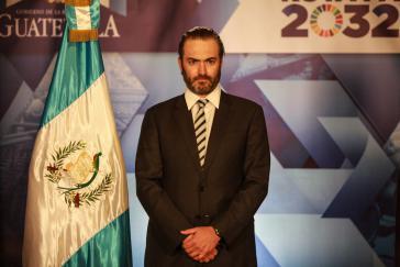 Zur Fahndung ausgeschrieben: Ex-Finanzminister von Guatemala, Acisclo Valladares Urruela