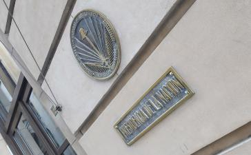 Die dem Präsidenten unterstellte Geheimdienstbehörde AFI mit Sitz in der Hauptstadt von Argentinien, Buenos Aires