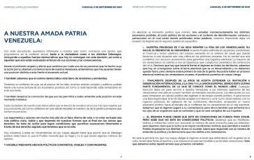 Oppositionspolitiker Henrique Capriles wirbt für Teilnahme der Opposition an den Parlamentswahlen