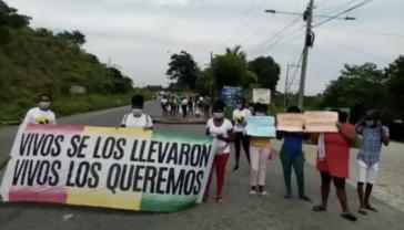 """""""Lebend haben sie sie uns genommen, lebend wollen wir sie wieder"""": Protest für die Rückkehr der verschwundenen Garífuna"""