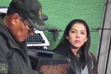 In Haft: Patricia Hermosa in Bolivien