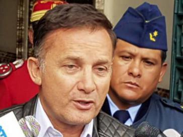 Verhinderter Verteidigungsminister López in Bolivien