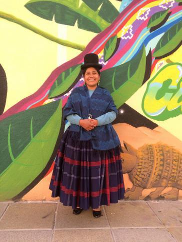 Francisca Alvarado Mamani kämpft seit über 30 Jahren für die Rechte indigener Frauen und Bäuerinnen
