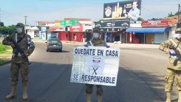 Militärpräsenz in den Straßen gehört seit mehr als drei Wochen zum Alltag in Bolivien