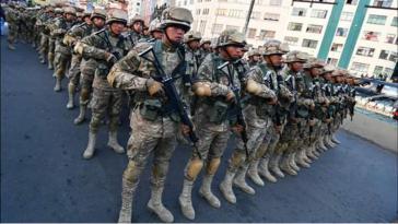 Die Putsch-Regierung in Bolivien schickt wieder Soldaten in den Einsatz gegen die Bevölkerung