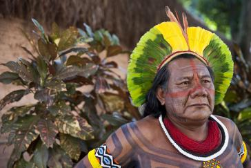 Indigener Würdenträger in Brasilien: Rechter der Nachkommen der Ureinwohner wurden gestärkt