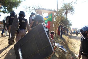 Brasilien: Militärpolizei vertrieb die Bauernfamilien mit Gewalt