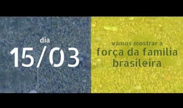 Screenshot aus dem umstrittenen Video, das in Brasilien per WhatsApp verbreitet wurde