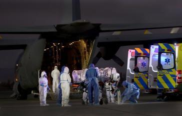 Covid-19-Kranke werden aus Santiago nach Concepción verlegt, um die Kliniken in der Metropolenregion zu entlasten