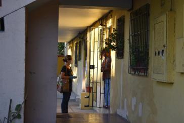 Selbstorganisierte Hilfe für ältere Menschen durch die Territorialversammlung Juan Antonio Ríos
