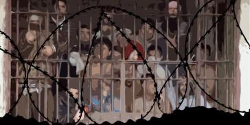 Überfüllte Gefängnisse, wo teilweise nicht einmal die Versorgung mit Trinkwasser gesichert ist, sind die Regel in Chile