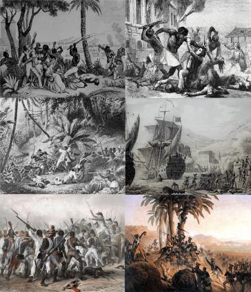 Collage der Haitianischen Revolution