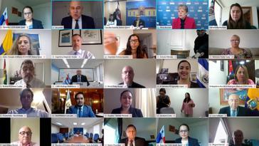 Beim virtuellen Treffen der CEPAL wurde sich über die Probleme vieler Mitgliedsländer während der Corona-Pandemie ausgetauscht