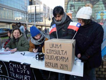 Bürgerbefragung zu einer neuen Verfassung für Chile im Dezember 2019 in Berlin