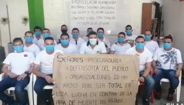 Politische Gefangene in Gefängnis in Cúcuta sind am Montag in Hungerstreik getreten