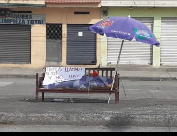 """""""Wir haben 911 (den Notruf) angerufen, es gibt keine Hilfe"""": Szene aus Guayaquil in Zeiten von Corona"""