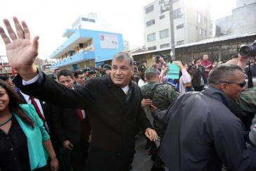 Hat sich der ehemalige Präsident von Ecuador, Rafael Correa, noch nicht ganz von der Hoffnung einer Kandidatur im kommenden Jahr verabschiedet?